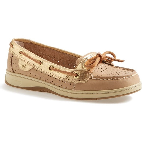 Sperry 'Angelfish' Perforated Boat Shoe